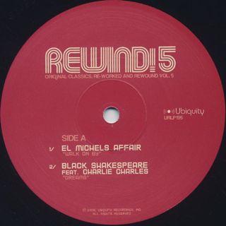 V.A. / Rewind! 5 label
