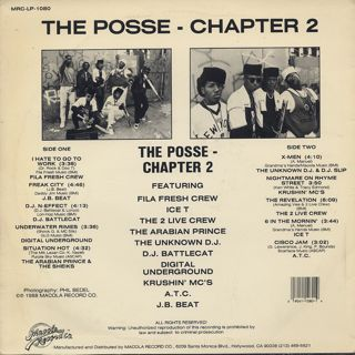V.A. / The Posse Chapter 2 back