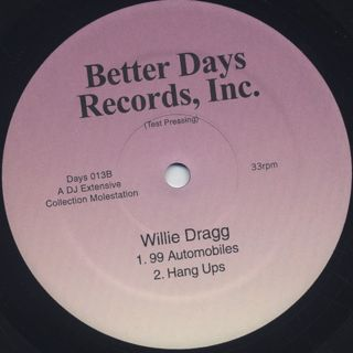 Willie Dragg / Tell You In Dub back