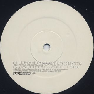 Zero 7 / Distractions label