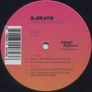 B.Bravo / Paradise Remixes label