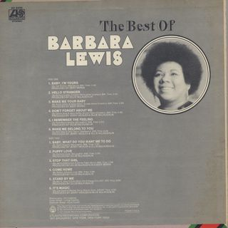 Barbara Lewis / The Best Of back