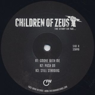 Children Of Zeus / The Story So Far label