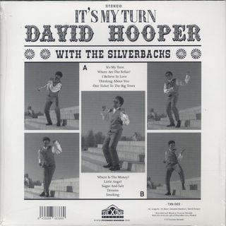 David Hooper / It's My Turn back