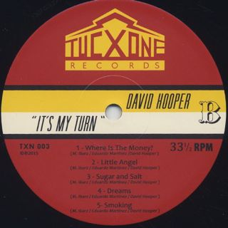 David Hooper / It's My Turn label