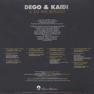 Dego & Kaidi / A So We Gwarn back