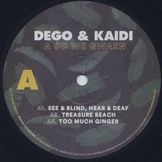 Dego & Kaidi / A So We Gwarn label