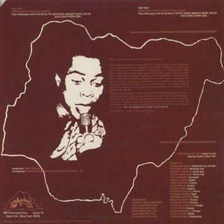 Fela Anikulapo Kuti / Unknown Soldier back