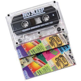 Frankie Knuckles / No Sleep: Radio Mars 1989 back