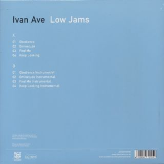 Ivan Ave / Low Jams back