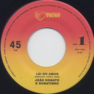 Joao Donato E Donatinho / Lei Do Amor back