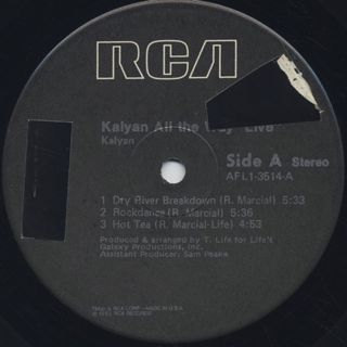 Kalyan / All The Way label