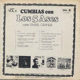 Los 5 Ases / Cumbias Con back