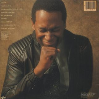Luther Vandross / Never Too Much back