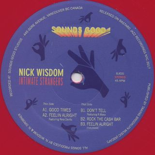 Nick Wisdom / Intimate Strangers label