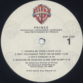 Prince / S.T. label
