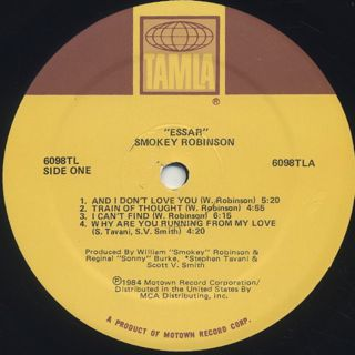 Smokey Robinson / Essar label