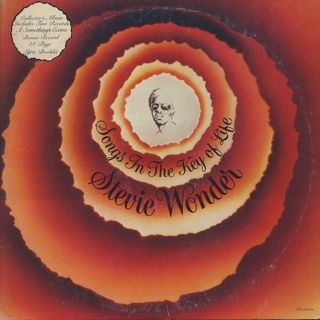 Stevie Wonder / Songs In The Key Of Life front