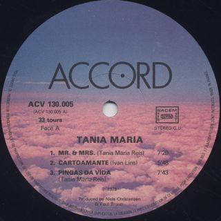Tania Maria / Live label