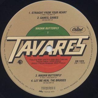 Tavares / Madam Butterfly label