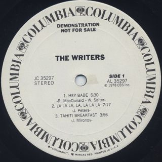 Writers / S.T. label