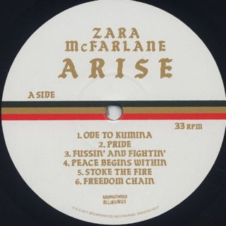 Zara McFarlane / Arise label