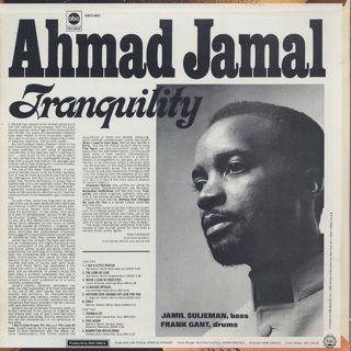 Ahmad Jamal / Tranquility back