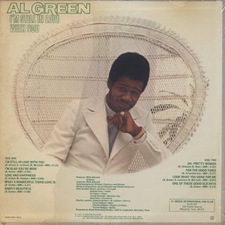Al Green / I'm Still In Love With You back