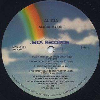 Alicia Myers / Alicia label