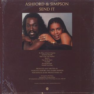 Ashford And Simpson / Send It back