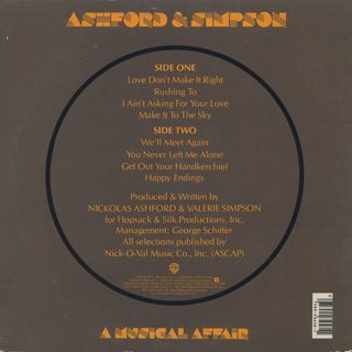 Ashford and Simpson / A Musical Affair back
