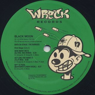 Black Moon / Enta Da Stage The Remixes label
