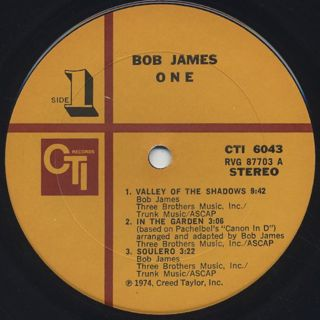 Bob James / One label