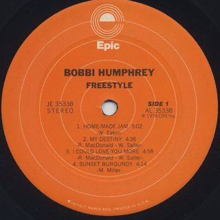 Bobbi Humphrey / Freestyle label
