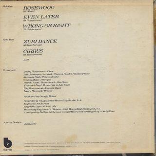 Bobby Hutcherson / Cirrus back