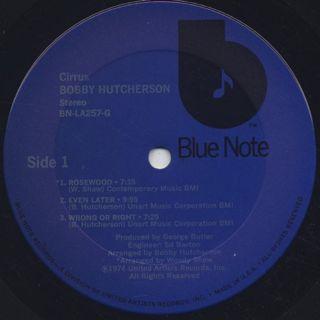 Bobby Hutcherson / Cirrus label