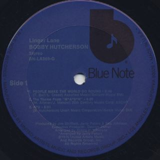 Bobby Hutcherson / Linger Lane label