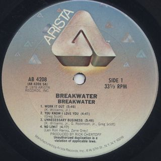 Breakwater / S.T. label
