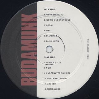 Budamunk / Baker's Dozen label