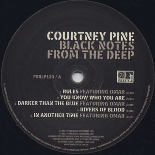 Courtney Pine / Black Notes From The Deep label