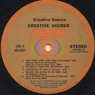 Creative Source / Migration label