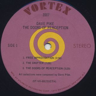 Dave Pike / The Doors Of Perception label