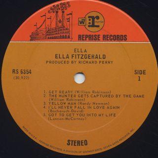 Ella Fitzgerald / Ella label