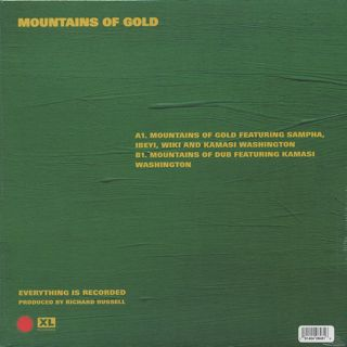 Everything Is Recorded / Mountains Of Gold back