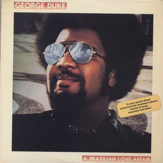George Duke / A Brazilian Love Affair front