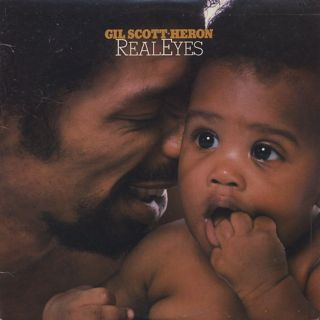 Gil Scott-Heron / Real Eyes front