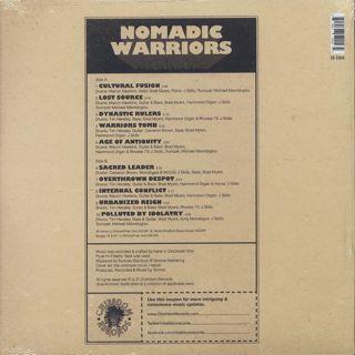 Grimez / Nomadic Warriors back