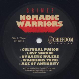 Grimez / Nomadic Warriors label