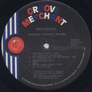 Groove Holmes / New Groove label