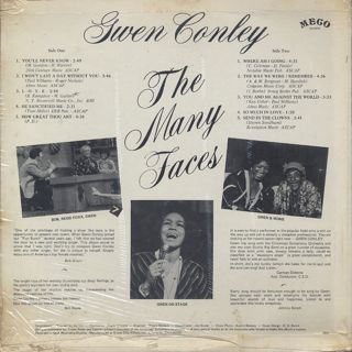 Gwen Conley / The Many Faces (S) back
